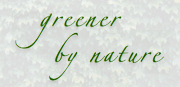 Greener By Nature