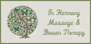 In Harmony Massage & Bowen Therapy